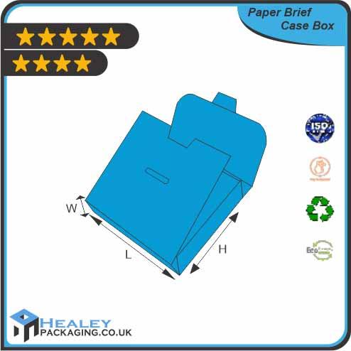Custom Paper Brief Case Box