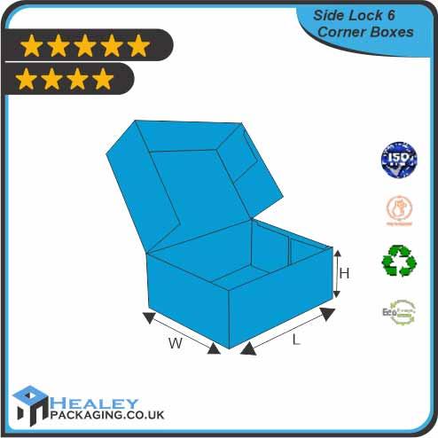 Custom Regular Six Corner Box
