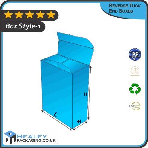 Custom Reverse Tuck End Boxes