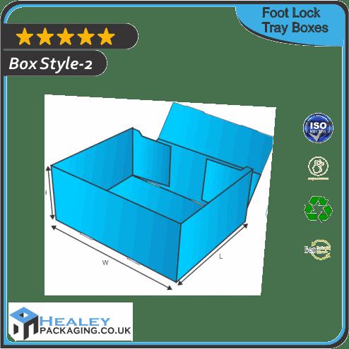 Foot Lock Tray Box