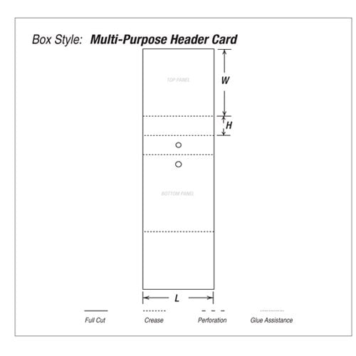 Multi-Purpose Header Card