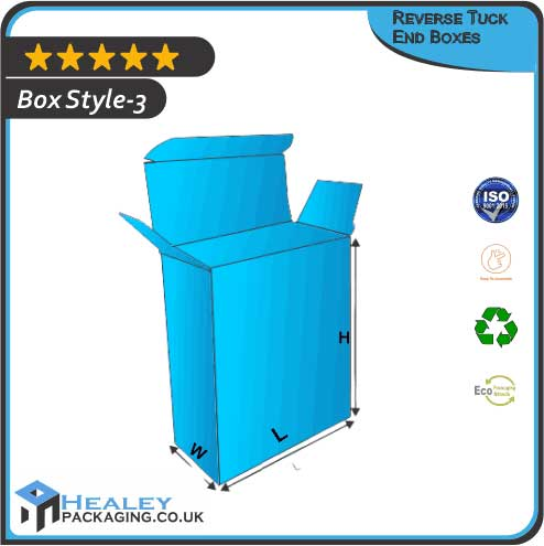 Reverse Tuck End Packaging BoxesReverse Tuck End Packaging Boxes