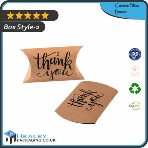 Custom Pillow Box