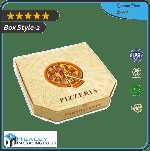 Custom Pizza Box