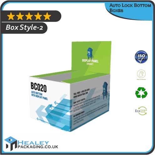 Custom Auto Lock Bottom Box