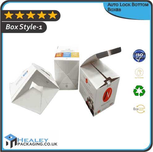 Custom Auto Lock Bottom Boxes