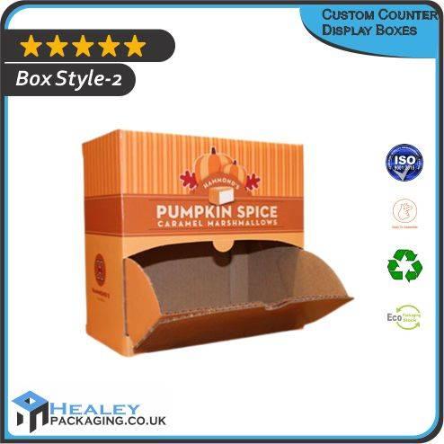 Custom Counter Display Box