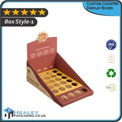 Custom Counter Display Boxes