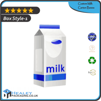 Custom Milk Carton Boxes