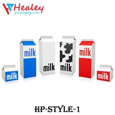 Custom Milk Carton