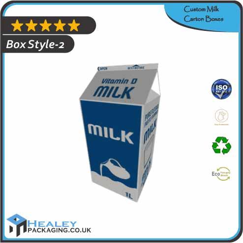 Custom Milk Carton Box