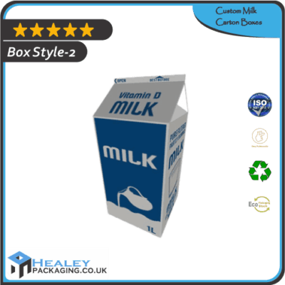 Custom Milk Carton Box