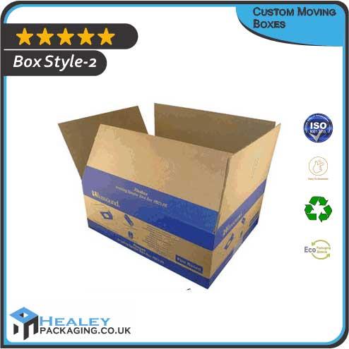 Custom Moving Box