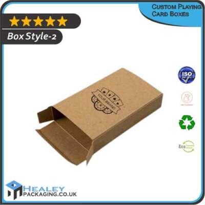 Custom Playing Card Box