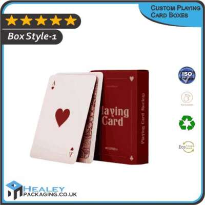 Custom Playing Card Boxes