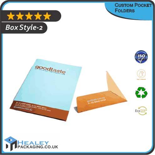 Custom Pocket Folder