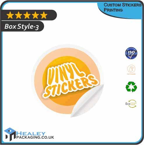 Custom Stickers Printing UK