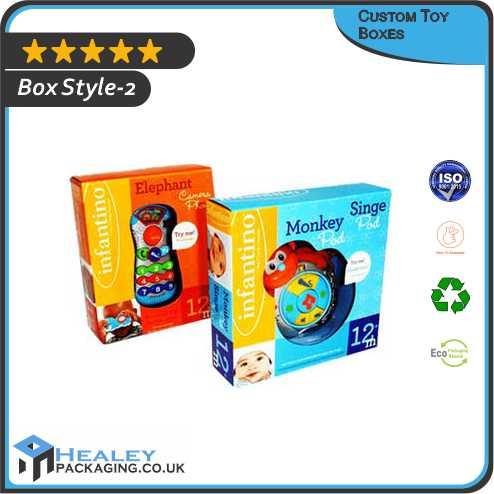 Custom Toy Packaging Box