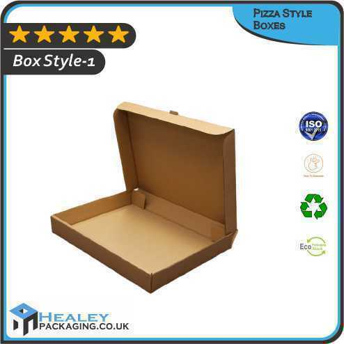 Custom Pizza Style Boxes