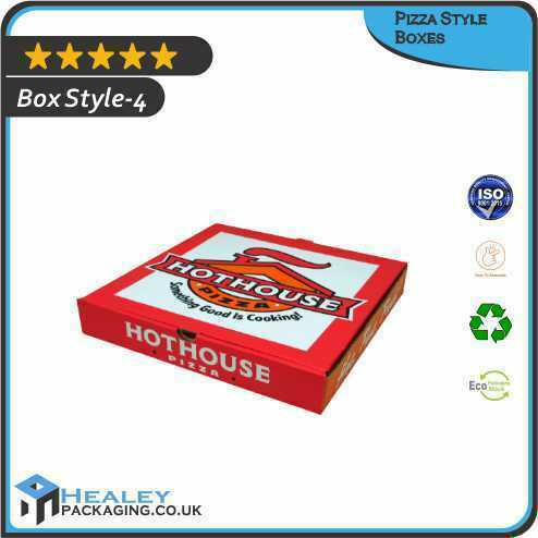 Pizza Style Packaging Box