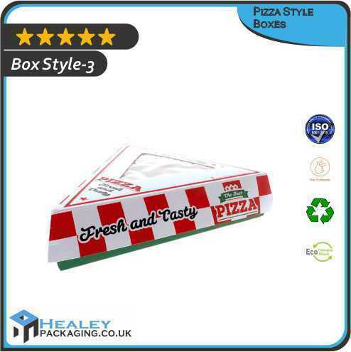 Pizza Style Packaging Boxes