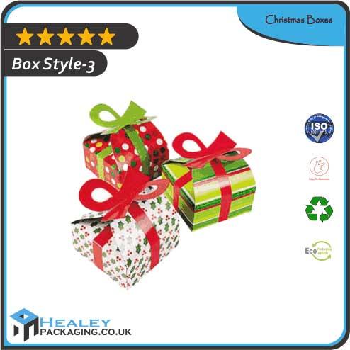 Printed Christmas Boxes