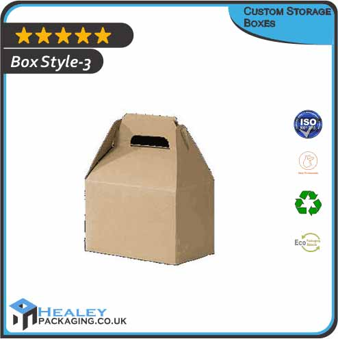 Printed Storage Boxes
