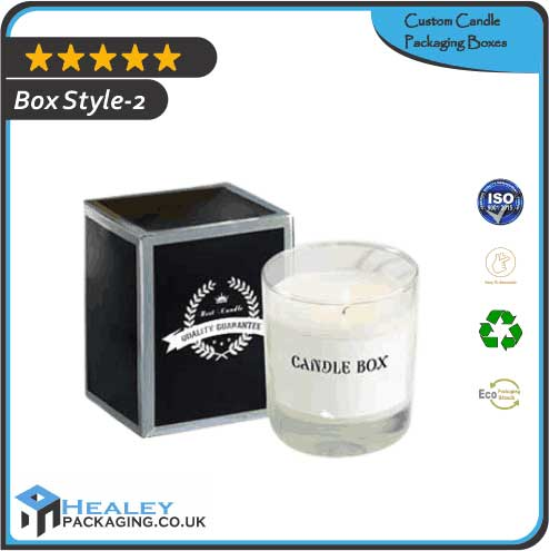 Custom Candle Packaging Box