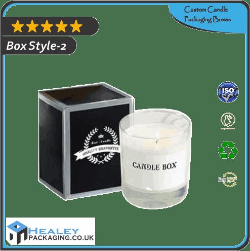 Custom Candle Packaging Box