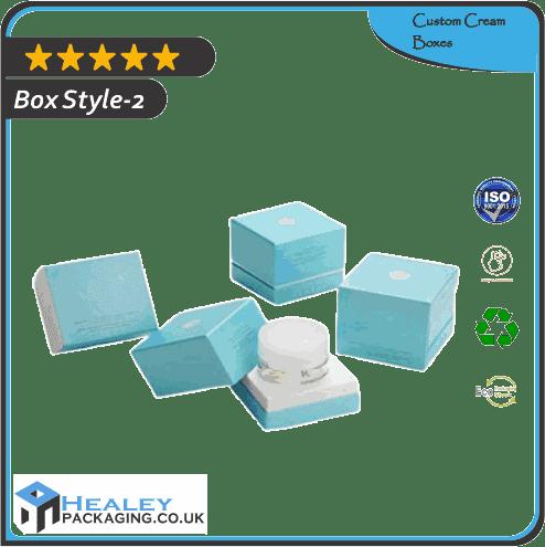 Custom Cream Box