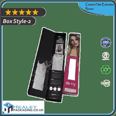 Custom Hair Extension Box