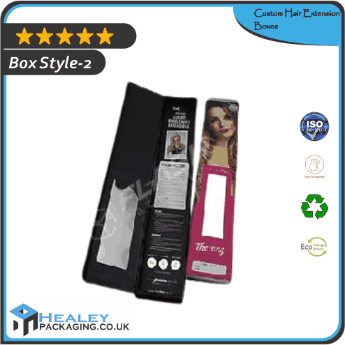 Custom Hair Extension Box