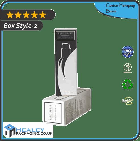 Custom Hairspray Box