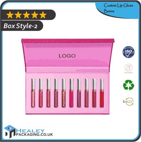 Custom Lip Gloss Box