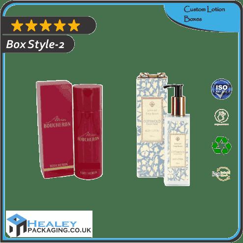Custom Lotion Box