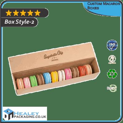 Custom Macaron Box