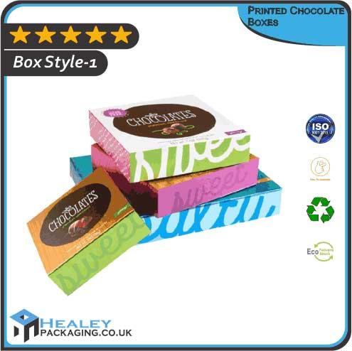 Custom Printed Chocolate Boxes