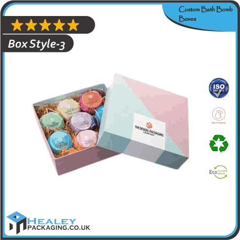 Custom bath Bomb Box