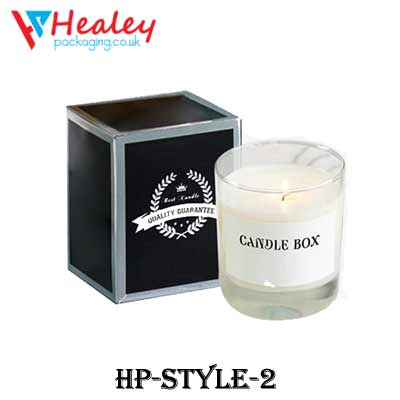 Printed Candle Boxes