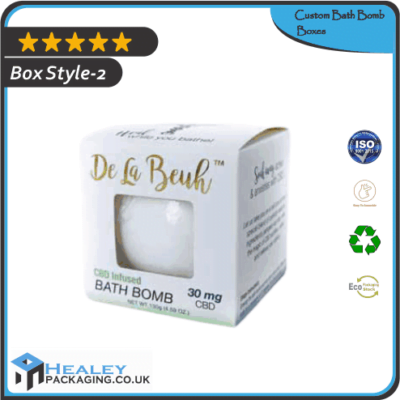 Wholesale Bath Bomb Box