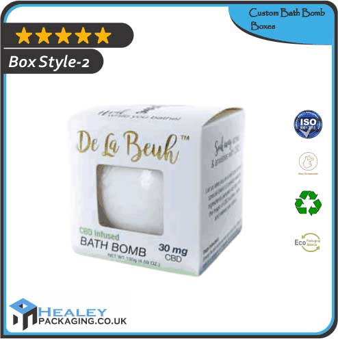 Wholesale Bath Bomb Box