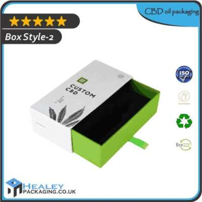 CBD Oil packaging Box