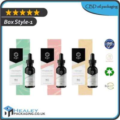 CBD Oil packaging Boxes