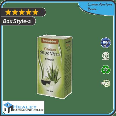 Custom Aloe Vera Box