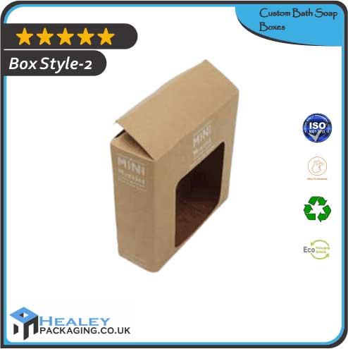 Custom Bath Soap Box
