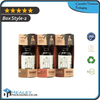 Custom Cannabis Tinctures Packaging Box