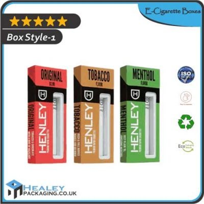 Custom E-Cigarette Boxes