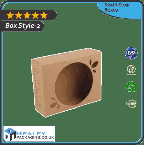 Custom Kraft Soap Box