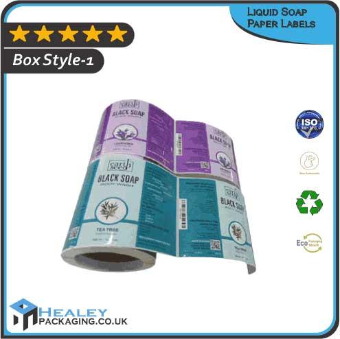 Custom Liquid Soap Paper