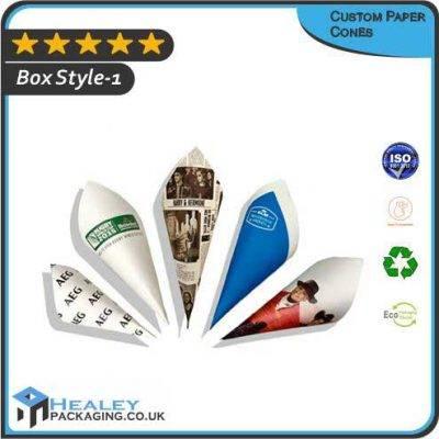 Custom Paper Cones